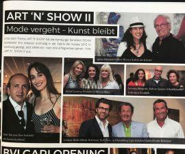 """Artikel in """"OPIUM"""", dem neuen Magazin für Hamburg"""